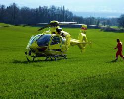 Lotnicze pogotowie transportuje ponad 8 tys. pacjentów rocznie
