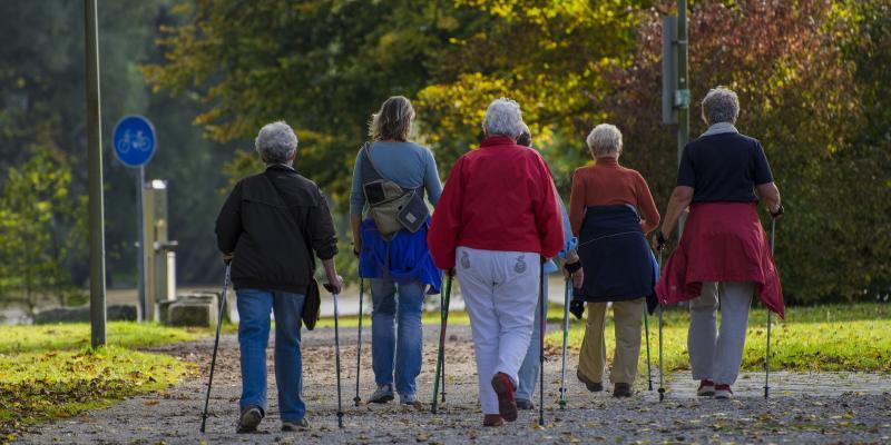 Nordic walking – polecany szczególnie dla seniorów