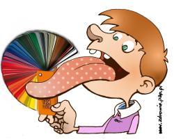 Barwa języka może być sygnałem choroby