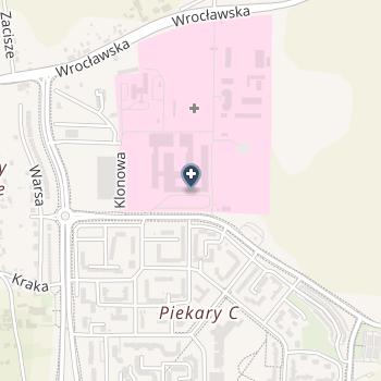 Wojewódzki Szpital Specjalistyczny w Legnicy na mapie