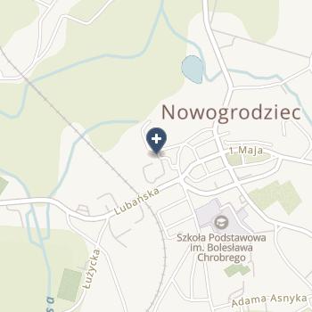 SPZOZ w Nowogrodźcu na mapie