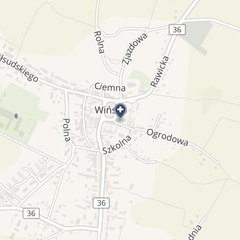 SPZOZ w Wińsku na mapie