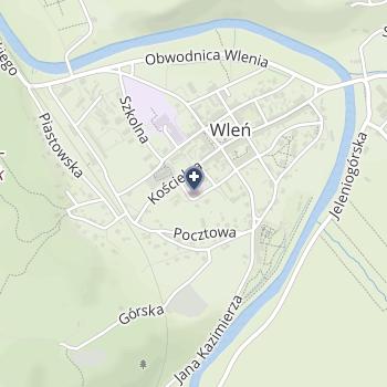 SPZOZ we Wleniu na mapie