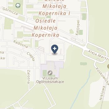 Prywatny Gabinet Ginekologiczny Barbara Okoniewska-Kobusiak na mapie