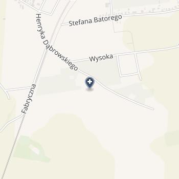 Wielospecjalistyczny Szpital -SPZOZ w Zgorzelcu na mapie