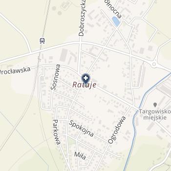 """Centrum Medyczne """"Hipokrates"""" NZOZ na mapie"""