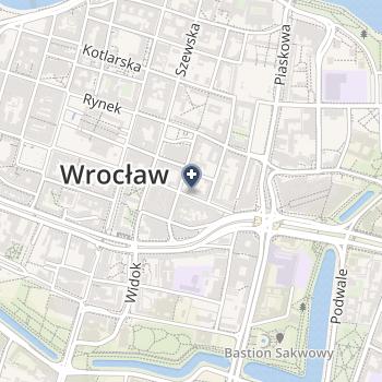 Dolnośląski Wojewódzki Ośrodek Medycyny Pracy na mapie