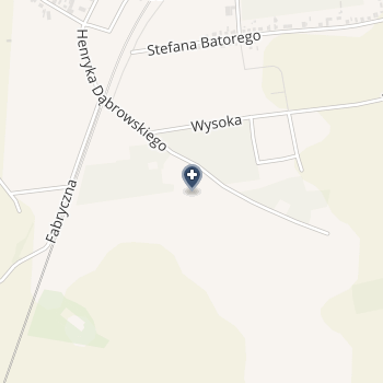 Gabinet Stomatologiczny - Danuta Borkowska na mapie