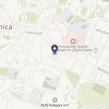 """Centrum Medyczne """"Medyk"""" na mapie"""