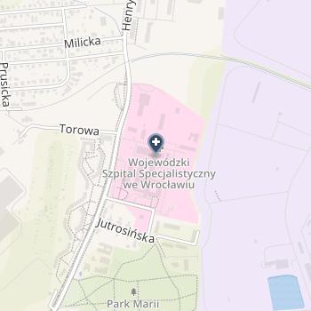 """Dolnośląskie Centrum Medycyny Profilaktycznej i Bezpieczeństwa Pracy """"Pro-Med"""" na mapie"""