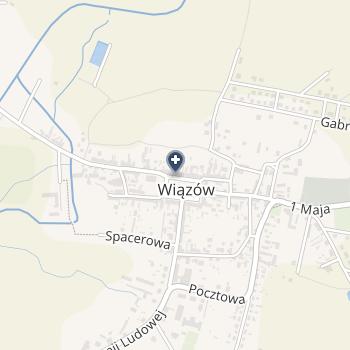 Praktyka Lekarza Rodzinnego Barbara Mierzwińska na mapie