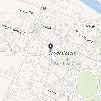Przychodnia Stomatologiczna Janina Stefaniak, Tomasz Stefaniak na mapie