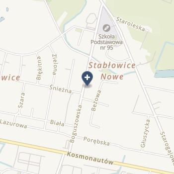 Katarzyna Szklarz Praktyka Stomatologiczna Lux-Dent na mapie
