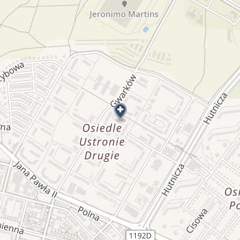 Zespół Przychodni Lubmed na mapie