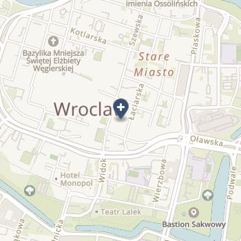 Wrocławskie Eye - Laser Center na mapie