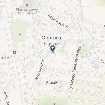 Dolnośląskie Centrum Chorób Płuc we Wrocławiu na mapie