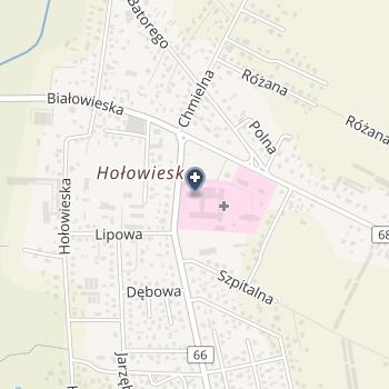 SPZOZ w Bielsku Podlaskim na mapie