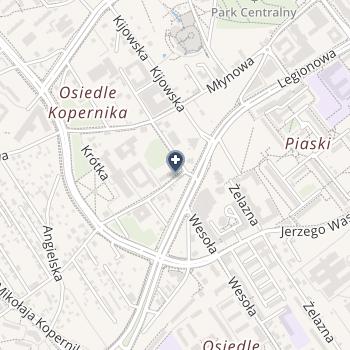 Samodzielny Szpital Miejski im. Pck na mapie