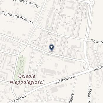 """NZOZ """"Centrum Zdrowia Salus"""" na mapie"""