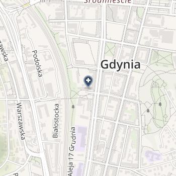 Miejska Stacja Pogotowia Ratunkowego w Gdyni SPZOZ na mapie