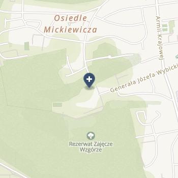 NZOZ nr 1 Katarzyna Szalewska na mapie