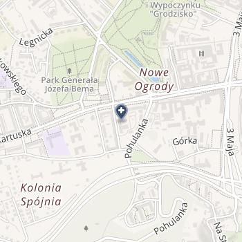 SPZOZ Ministerstwa Spraw Wewnętrznych w Gdańsku na mapie