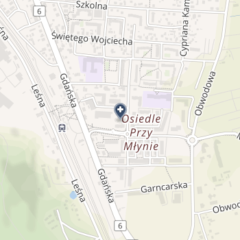 """NZOZ """"Śródmieście"""" na mapie"""