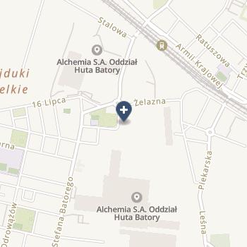 Zakład Pielęgnacyjno-Opiekuńczy Amicus Pielęgniarki Pawlik na mapie