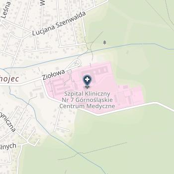 Szpital Kliniczny Nr 7 Śląskiego Uniwersytetu Medycznego na mapie