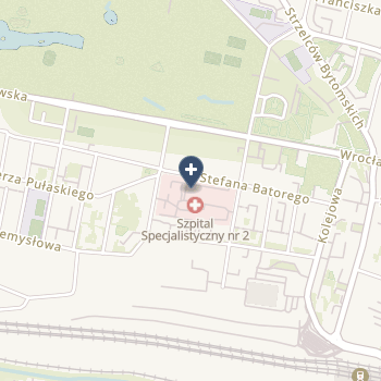 Szpital Specjalistyczny Nr 2 w Bytomiu na mapie