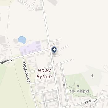 Przychodnia Specjalistyczna SPZOZ w Rudzie Śląskiej na mapie