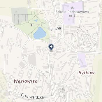 Jolanta Gąsior na mapie