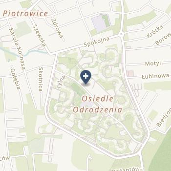 Danuta Wrońska na mapie