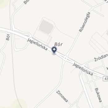 Juliamed Anna Wojtyla na mapie