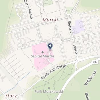 Szpital Murcki na mapie