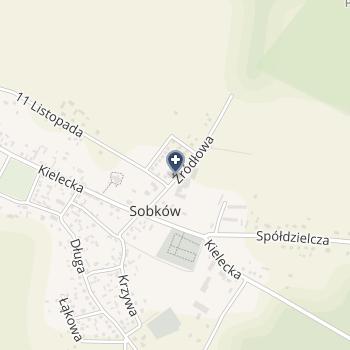 Gminny ZOZ w Sobkowie na mapie