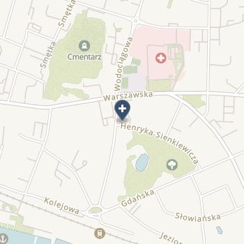 Szpital Giżycki na mapie