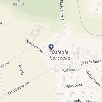 "NZOZ ""Szpital Lipno"" na mapie"