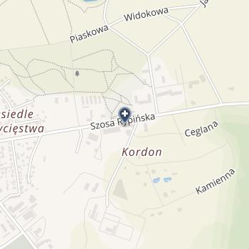 """Niepublicznym Zakładem Opieki Zdrowotnej """"Gol-Med."""" w Golubiu - Dobrzyniu na mapie"""
