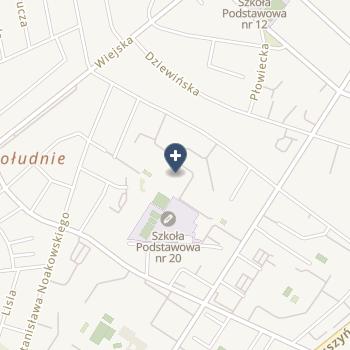 Samodzielny Publiczny Zespół Przychodni Specjalistycznych we Włocławku na mapie