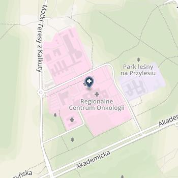 Centrum Onkologii im. prof. Franciszka Łukaszczyka na mapie