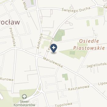 NSZOZ w Inowrocławiu - Ewa Chmielewska na mapie