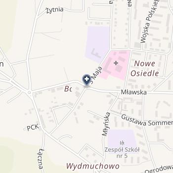 Fizjo-Man Sylwester Ziontkowski na mapie