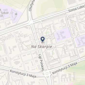 """NZOZ Poradnia Chirurgiczna """"Manus"""" na mapie"""