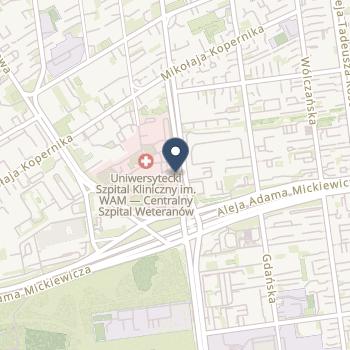 SPZOZ Uniwersytecki Szpital Kliniczny im.Wojskowej Akademii Medycznej na mapie