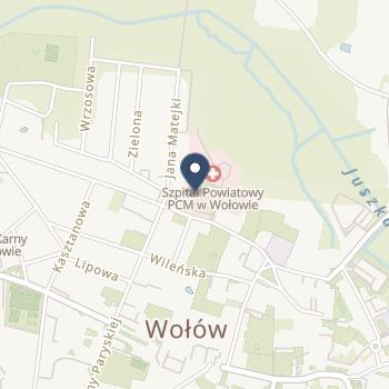 NZOZ Powiatowe Centrum Medyczne w Wołowie na mapie