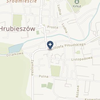 SPZOZ w Hrubieszowie na mapie