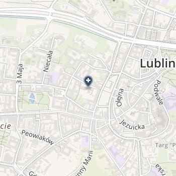 Stomatologiczne Centrum Kliniczne Uniwersytetu Medycznego w Lublinie na mapie