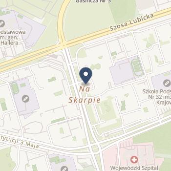 Toruńskie Centrum Psychiatrii na mapie