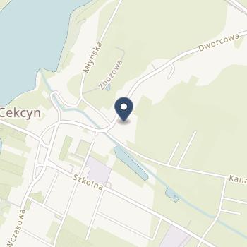Szpital Tucholski na mapie